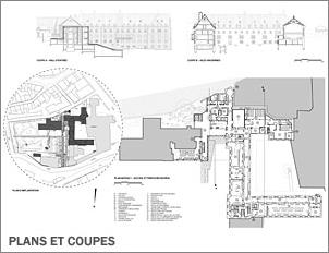 Le Monastère des Augustines - Plans et coupes